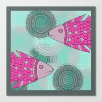 Indian Fish Canvas Print