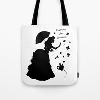 Curiouser And Curiouser Tote Bag