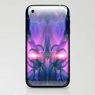 Light And Crystal Sympho… iPhone & iPod Skin