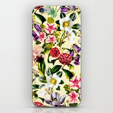 SUMMER BOTANICAL X iPhone & iPod Skin