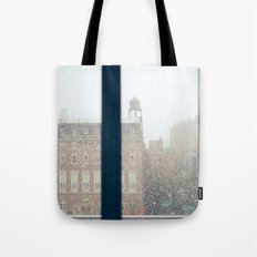And On The Sixth Day, It Snowed Tote Bag