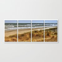 A Day At Hatteras Canvas Print