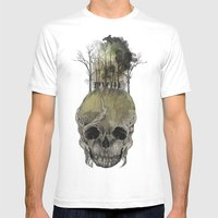 Lost Woods Mens Fitted Tee White SMALL