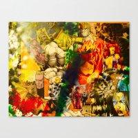 Fetty Arcane Wap Canvas Print