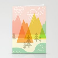 Raindrop Valley Stationery Cards