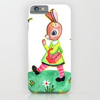 iPhone & iPod Case featuring Rebecca Rabbit as Francoise's Jeanne-Marie by Rebecca Rogers