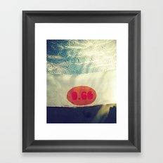 Pool 0.60 Framed Art Print