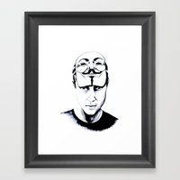 We are the 99% Framed Art Print