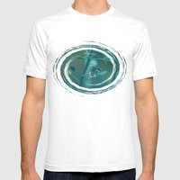 Teardrop Mens Fitted Tee White SMALL