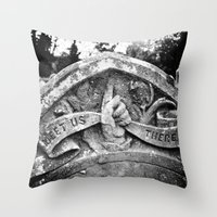 Meet Us There Throw Pillow