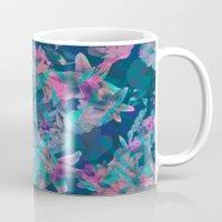 Geometric Floral Mug