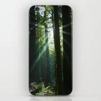 Rays of Light iPhone & iPod Skin