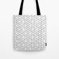 Karthuizer Grey & White Pattern Tote Bag