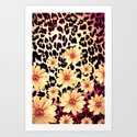 Wild Flowers - for Iphone Art Print