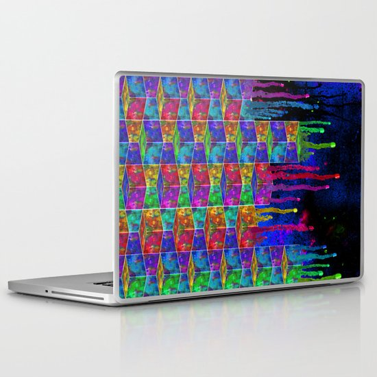 Splatter Box Laptop & iPad Skin