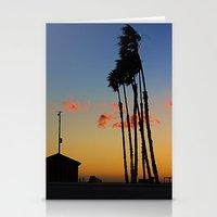 Long Beach Hut Stationery Cards