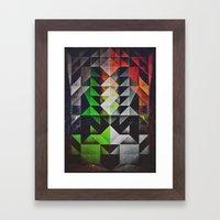 mysshyne trypyrtyte Framed Art Print