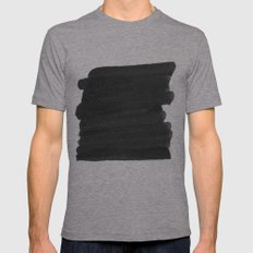 Censor Mens Fitted Tee Athletic Grey SMALL