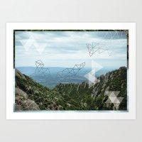 Montserrat, Barca Art Print