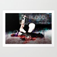 Dream Of Chains 4 Art Print