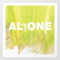SUNDAYS ARE FOR SOULMATES / ALL ONE Art Print