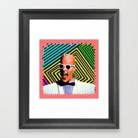 MAX HEADROOM  |  80's Inspiration Framed Art Print