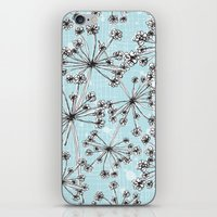 Contemporary Cow Parsley  iPhone & iPod Skin