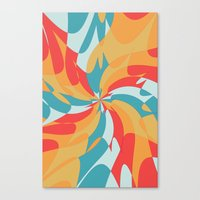 Splat (Available In The … Canvas Print