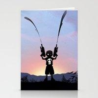 Punisher Kid Stationery Cards
