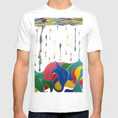 Plenty Of Sea In The Fish Mens Fitted Tee SMALL White