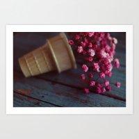 flower cone II Art Print