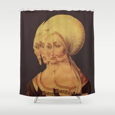 Frau Dürer 202 Shower Curtain