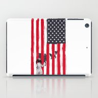 iPad Case featuring Little Girl And Wolves by Balazs Solti