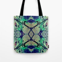 Paint Splatter II Tote Bag