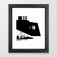 ATTITUDE Framed Art Print
