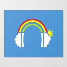 Rainbowphones Canvas Print