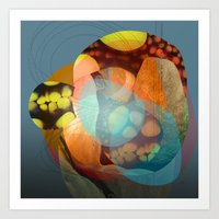 the abstract dream 21 Art Print
