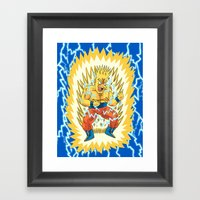 Super Springfieldian Framed Art Print