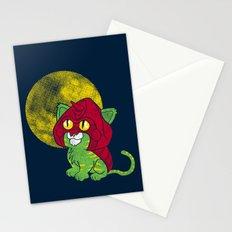 Battle Kitty  Stationery Cards
