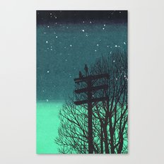 Gone Away Night Canvas Print
