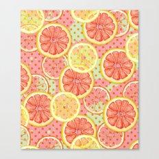 Fresh & Fruity Canvas Print