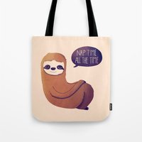 Nap Time All The Time Tote Bag