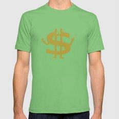 High Class Lifestyle Mens Fitted Tee Grass SMALL