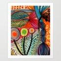 les vivaces Art Print