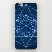 Sacred geometry / Minimal Hipster Symbol Art iPhone & iPod Skin