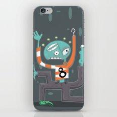 Crazy Alien iPhone & iPod Skin