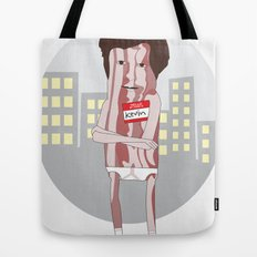 Mr. Bacon Tote Bag