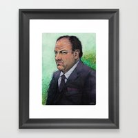 TONY  Framed Art Print