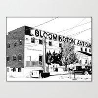 bloomington I Canvas Print