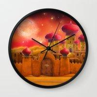 Aladdin castle Wall Clock